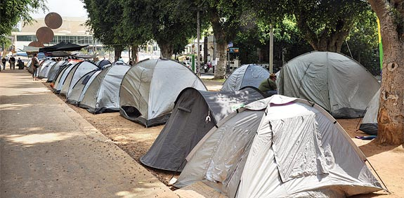 אוהלים רוטשילד / צלם: תמר מצפי